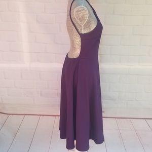 Boohoo Mary Strappy Backless Midi Skater Dress